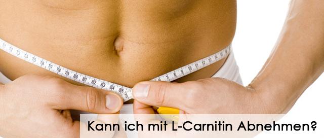 Kann ich mit L-Carnitin Abnehmen?