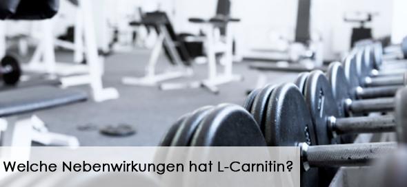 Welche Nebenwirkungen hat L-Carnitin?