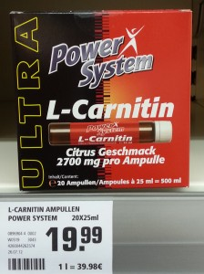 l-carnitin bei Rewe von Power System